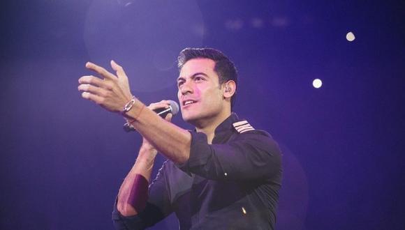 El cantante Carlos Rivera no podrá presentar la gala de los Latin Grammy 2020. (Foto: @_carlosrivera)