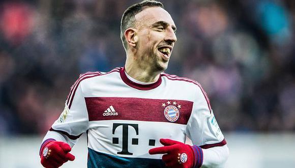 """Franck Ribéry podría nacionalizarse alemán: """"¿Por qué no?"""""""