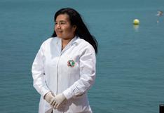 Cientificas peruanas: Sara Purca, la ingeniera que estudia de la contaminación por microplásticos