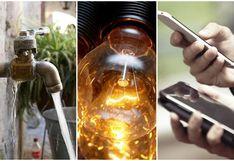 Agua, luz y telefonía: ¿Qué medidas adoptarán las empresas de servicios básicos durante la cuarentena?