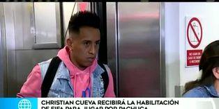 Christian Cueva aguarda debut con Pachuca