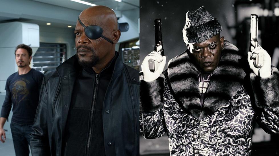 """Samuel L. Jackson: Nick Fury en el UCM y 'Octopus' en """"The Spirit""""."""