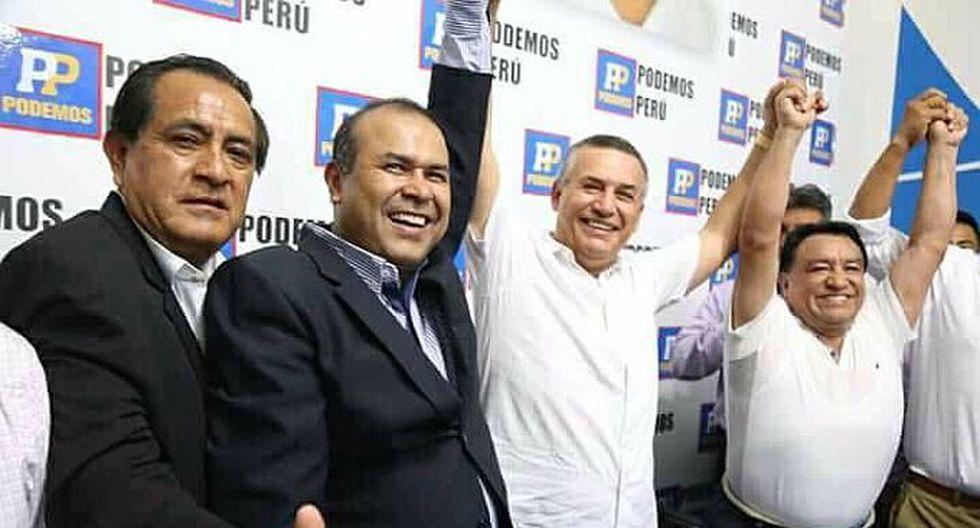 El ex ministro del Interior Daniel Urresti fue presentado como el candidato a la alcaldía de Lima por el partido Podemos Perú. (Foto: Difusión)