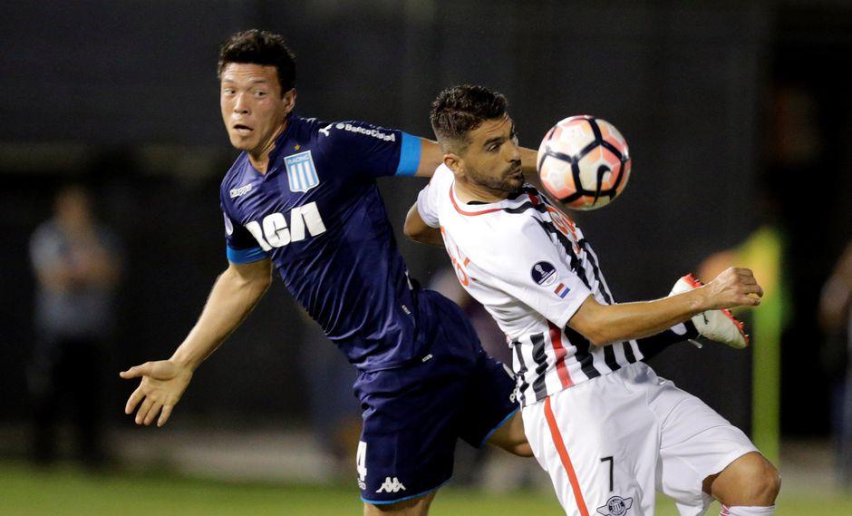 Racing perdió 1-0 ante Libertad por la Copa Sudamericana. (Foto: Agencias)