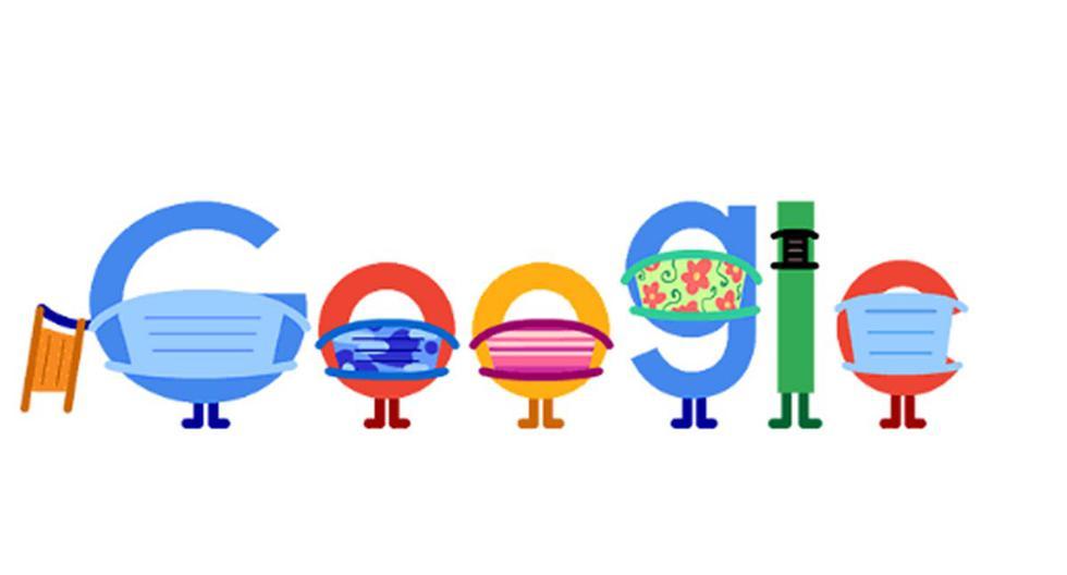 Prevención COVID-19: Google recomienda usar mascarillas para evitar contagios de coronavirus con nuevo doodle | Coronavirus  | Pandemia | NNDC | | TECNOLOGIA | EL COMERCIO PERÚ