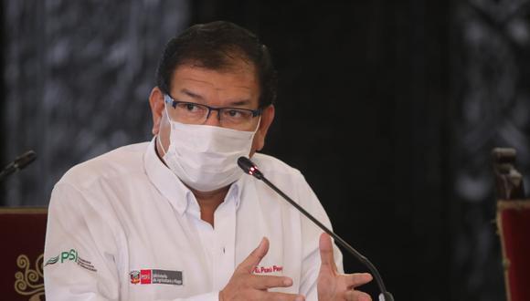 El ministro del Agricultura dio positivo a prueba de coronavirus (Foto: Presidencia de la República)