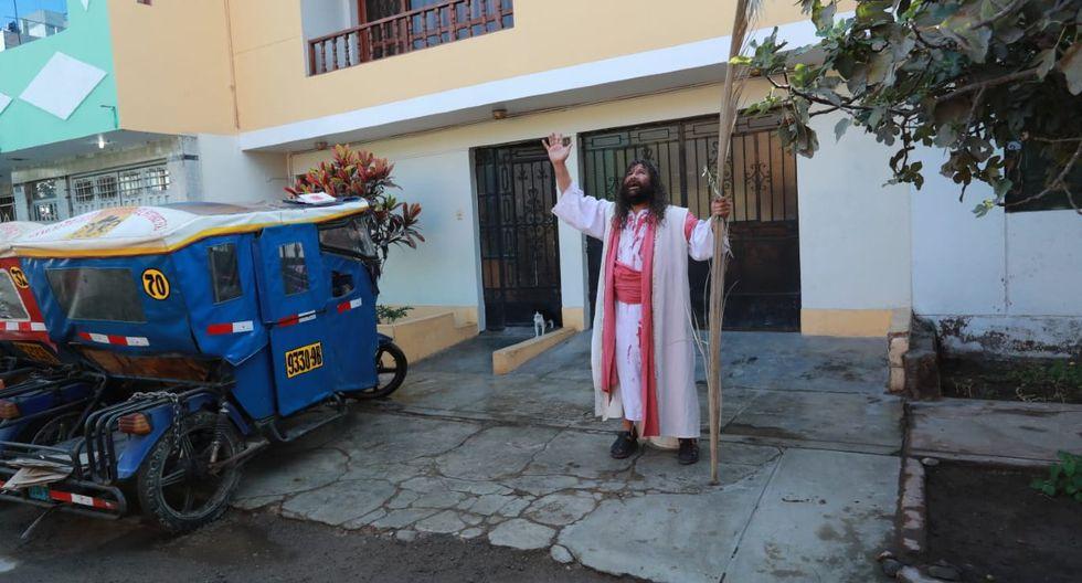 Es la primera vez después de 42 años que Mario Valencia no cargará la pesada cruz de 90 kilos. (Foto: Lino Chipana/GEC)