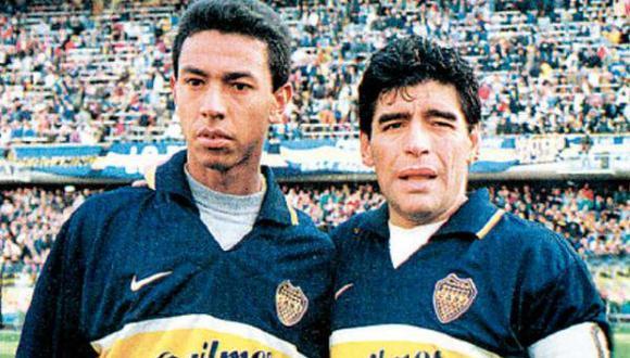 Nolbertos Solano fue apadrinado por Diego Maradona como el 'Maestrito'. (Foto: Internet)
