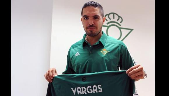 Juan Vargas: técnico del Real Betis habló sobre el peruano