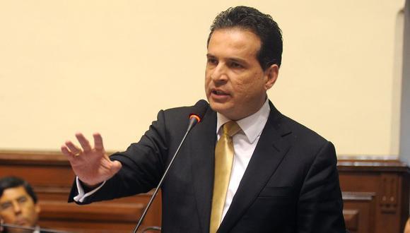 Omar Chehade fue vicepresidente del gobierno de Ollanta Humala (Foto: Congreso Perú)