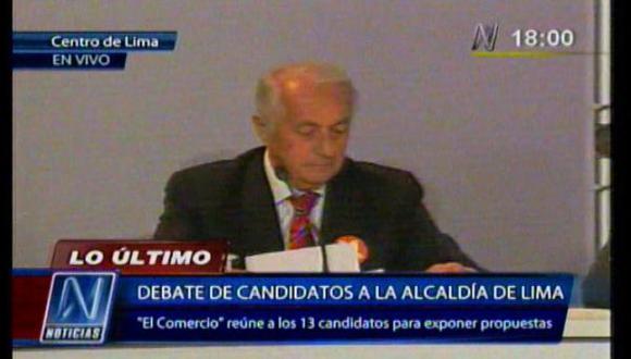 """Sánchez Aizcorbe: """"En seguridad mejoremos la inteligencia"""""""