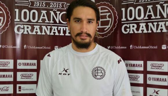 Futbolista de Lanús internado tras caerle pesa en la cabeza