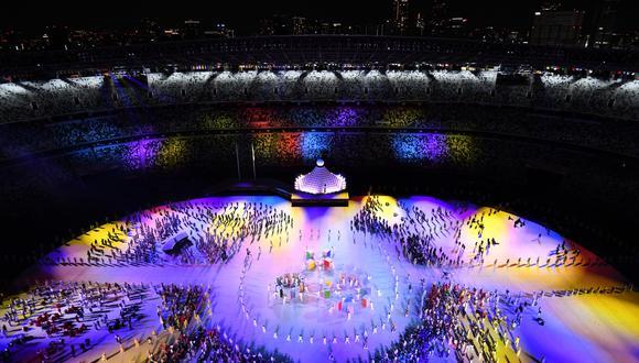 Este viernes 23 de julio se llevó a cabo la ceremonia de inauguración de los Juegos Olímpicos Tokio 2020 | Foto: AFP