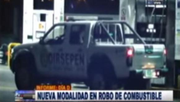 Descubren nueva modalidad de robo de combustible en la PNP