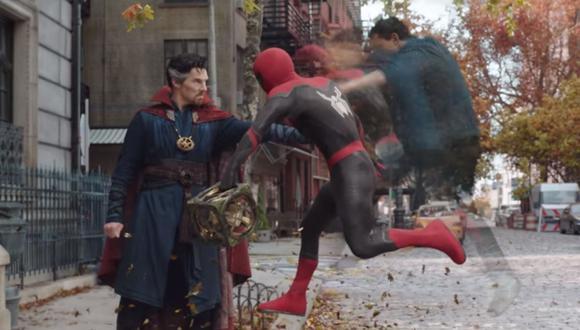 """""""Spider-Man: No way home"""" estrenó su primer tráiler con varias sorpresas. (Foto: Captura YouTube)."""