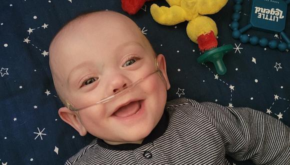 El bebé más prematuro del mundo, que tenía 0% de posibilidades de sobrevivir, celebró su primer cumpleaños. (Foto: GoFundMe)