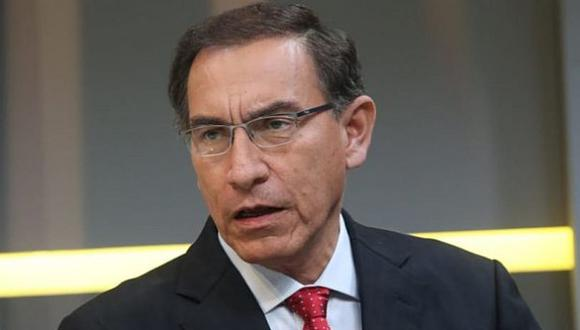 Martín Vizcarra pidió tranquilidad para no perjudicar a todos los habitantes de la región.(Foto: Presidencia)