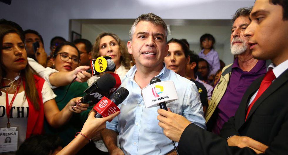 Julio Guzmán se refirió a la situación del Partido Morado post-coronavirus y de cara a las elecciones del 2021. (Foto: GEC)