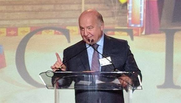 Destacado economista peruano recibió el premio hoy en Washington DC, Estados Unidos. (Foto: Difusión)