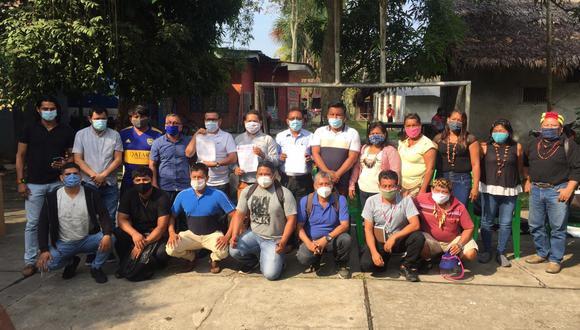 El ministro de Cultura se reunió con representantes indígenas, miembros del Comando COVID 19 Indígena de Loreto y representantes de la Defensoría. (Foto: Mincul)