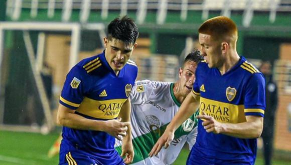Boca Juniors enfrentó a Banfield por la Liga Profesional de Argentina