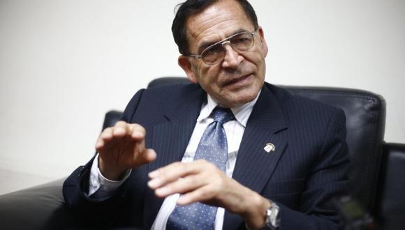 """Alberto Quintanilla afirmó que el Nuevo Perú no tuvo los recursos ni la capacidad para inscribirse como partido. """"Esta es una autocrítica"""", refirió. (Foto: GEC)"""
