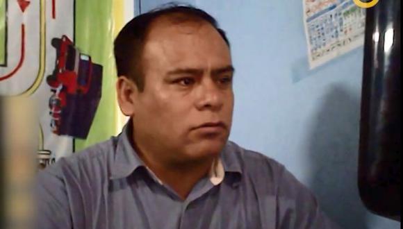 Carlos de la Cruz Hinostroza se comprometió a dar una entrevista a El Comercio, pero no cumplió y solo hizo que su abogado hablara por él. (El Comercio)