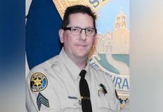 ¿Quién era Ron Helus, el policía héroe abatido en el tiroteo en California?