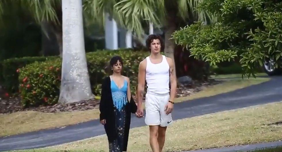 Camila Cabello y Shawn Mendes lucían demacrados y poco enérgicos (Foto: Captura de pantalla / Youtube)