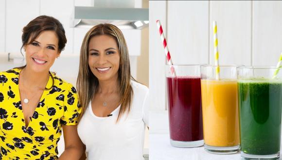 Desde su experiencia como mamás, ambas figuras han compartido sus mejores recetas de jugos naturales para toda la familia. (Foto: Yo Madre)