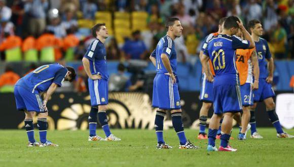 """Jugadores argentinos pidieron """"perdón"""" en Twitter por derrota"""
