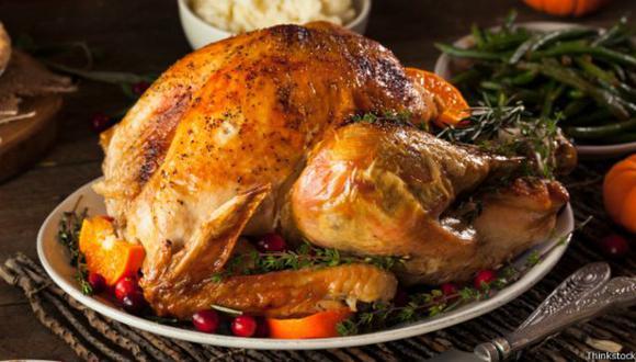 El pavo, es símbolo y plato principal del tradicional Día de Acción de Gracias. (Foto: Thinkstock).