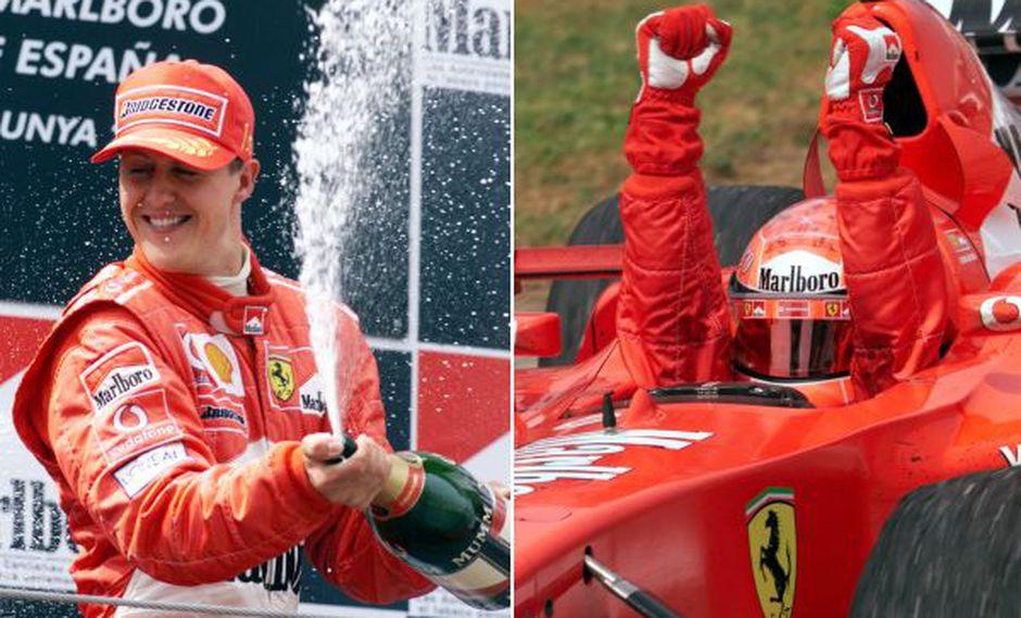 Schumacher recibió un homenaje de Ferrari en su cumpleaños con 72 imágenes