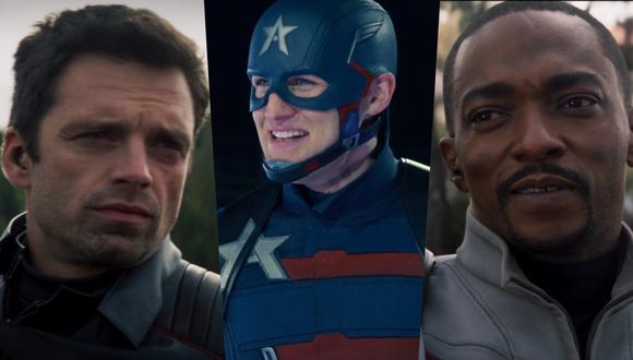 """En el nuevo episodio de la serie de Disney+ """"Falcon y el Soldado del Invierno"""", los héroes protagonistas tienen que tratar con el nuevo Capitán América. Foto: Marvel Studios."""