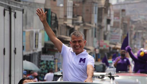 El candidato presidencial Julio Guzmán (Partido Morado) pasó del 8% al 3% de las preferencias electorales de diciembre a marzo, de acuerdo a los sondeos de El Comercio-Ipsos. (Foto: Twitter))