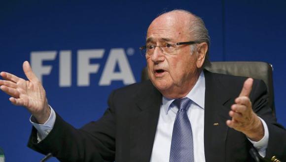 FIFA: Joseph Blatter se pronunció sobre escándalo de corrupción
