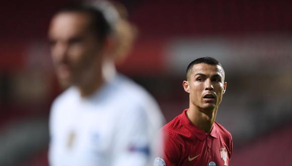Cristiano Ronaldo debutó con Portugal en el 2003. (Foto: AFP)