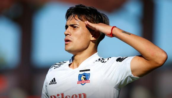 Pablo Solari, delantero argentino de 19 años anotó el gol con el que Colo Colo se salvó del descenso.
