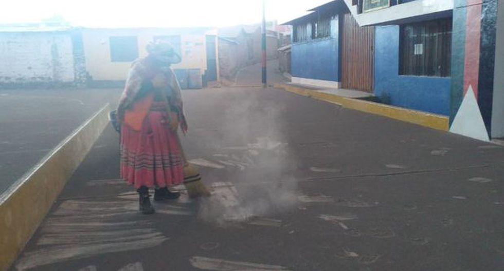 Erupción del volcán Ubinas: Defensoría  supervisa atención a población afectada