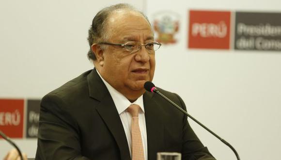 Fernando Tuesta presidió la comisión de reforma política. (Foto: PCM)