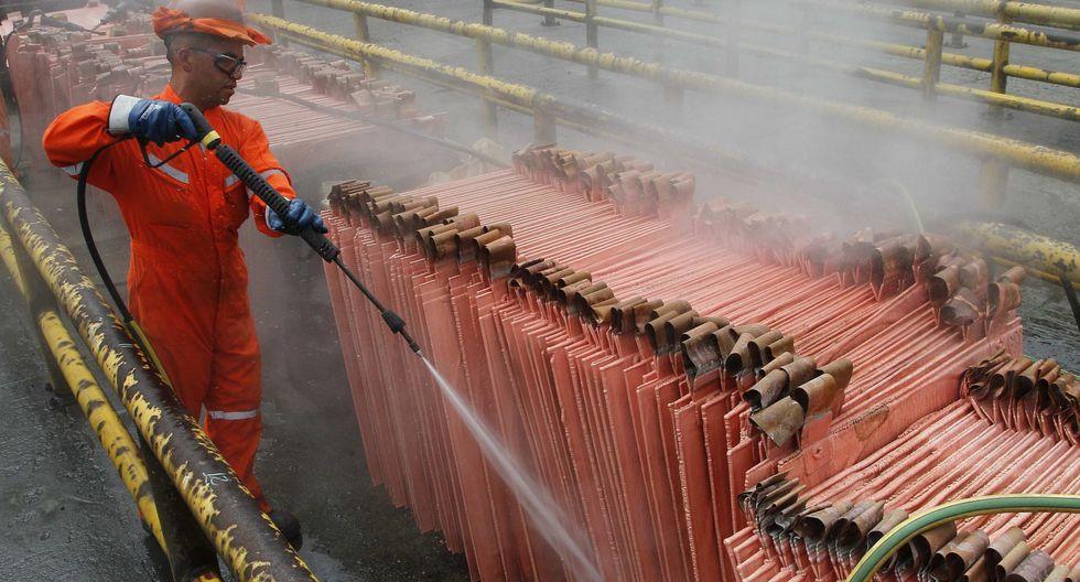 Planta de refinería de cobre de la compañía estatal chilena Codelco. (Foto: Reuters)