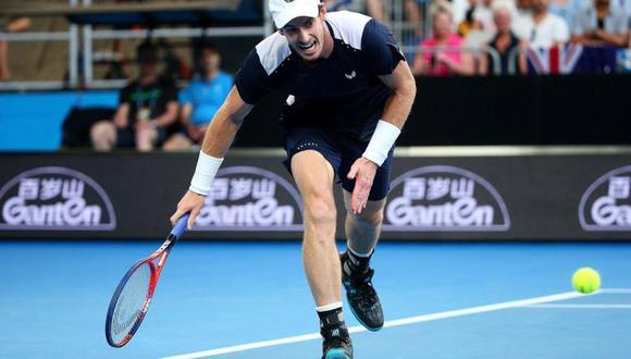 Andy Murray perdió en el quinto set ante Roberto Bautista por la primera ronda del Australian Open. El escocés disputó su último partido en este torneo (Foto: AFP)