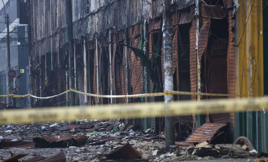 Los peritos realizarán una verificación técnica para saber si el fuego fue causado por una negligencia o una omisión a las normas de seguridad.