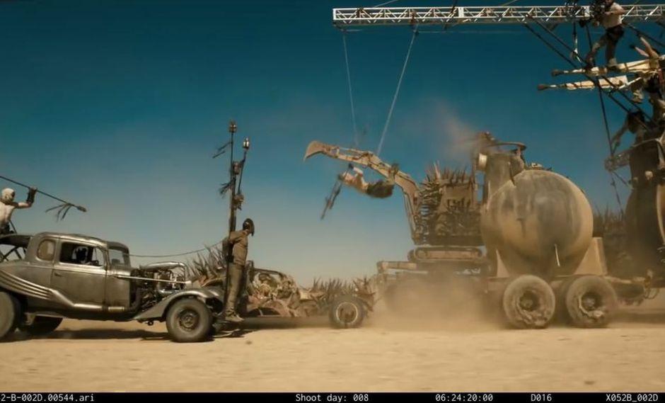 Mad Max Fury Road: Cómo se vería sin efectos especiales [VIDEO]
