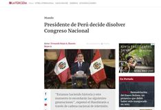 Vizcarra anuncia disolución del Congreso: así informó el mundo