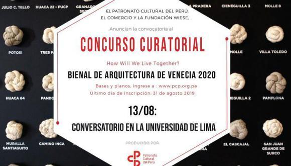 El Comercio es patrocinador del pabellón peruano de la Bienal de Venecia 2020.