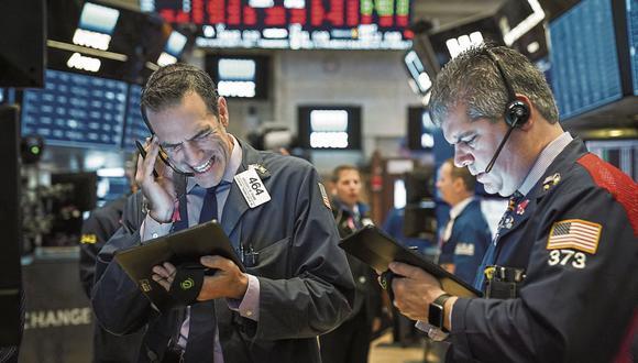 La bolsa neoyorquina se encamina a su peor semana desde la crisis subprime. (Foto: AFP)