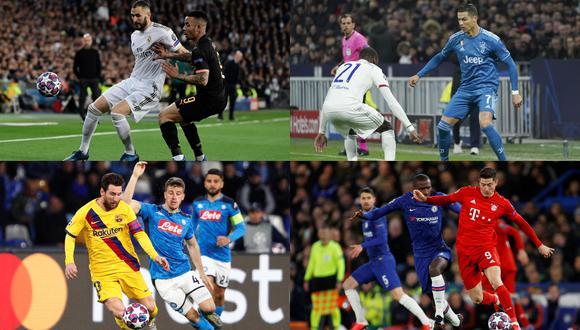 La Champions League vuelve este fin de semana. Revisa la fecha, hora y guía de canales para ver los duelos en vivo| Fotos: Agencias