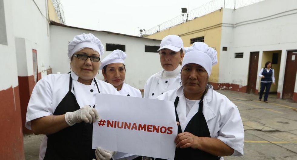 #NiUnaMenos: ministra Pérez Tello e internas se unieron a causa - 2