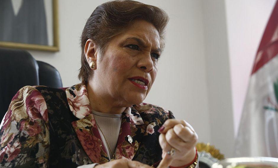 La congresista de Fuerza Popular Luz Salgado aseguró que apelarán la prisión preventiva contra Keiko Fujimori. (Foto: USI)
